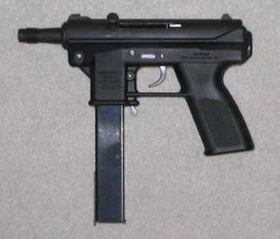 """A TEC-9. Maybe not """"THE"""" TEC-9 - WIKIPEDIA"""