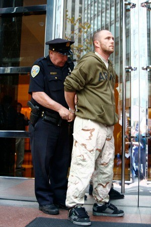 A veteran arrested on Veterans Day - COBURN PALMER