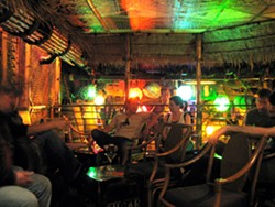 """A view of the upstairs """"Crow's Nest"""" at Smuggler's Cove - LOU BUSTAMANTE"""