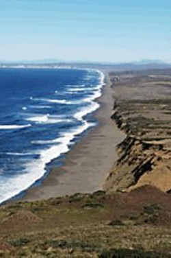 JAMES  SANDERS - A World to Itself: The Light's readership area is - dominated by Point Reyes National Seashore.