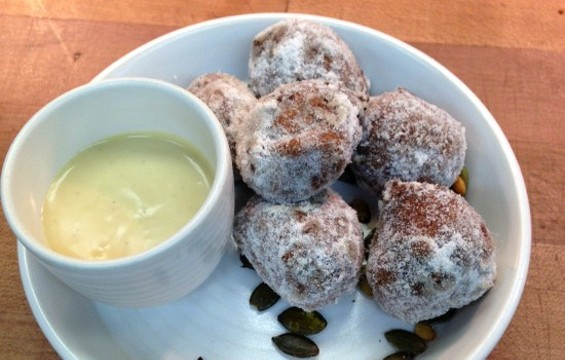 A16 Rockridge's Pumpkin Fritters