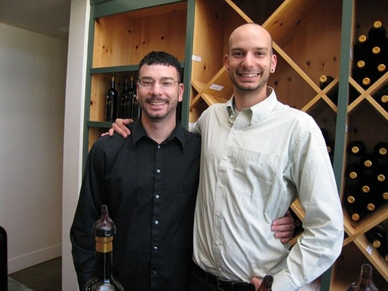 Aaron (left) and Jesse Inman. - NEETA LIND/FLICKR