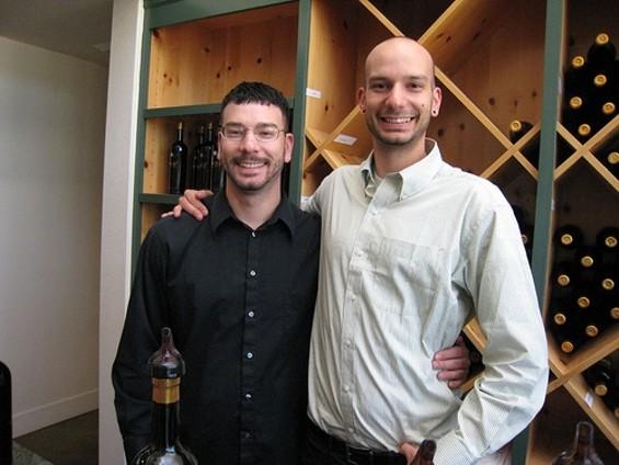 Aaron (left) and Jesse Inman. - NEETA LIND/FLICKR