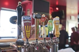Ace's is a sanctuary for New York Giants fans. -