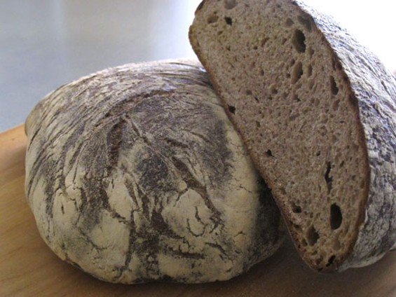 Acme Bread's new Edible Schoolyard bread - LOU BUSTAMANTE