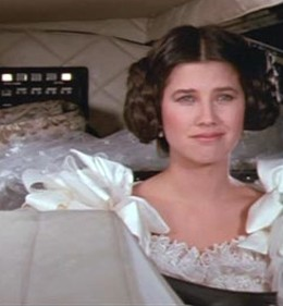 Actress Daphne Zuniga, seen here as 'Princess Vespa,' thinks Gavin Newsom is the best lieutenant governor candidate in the galaxy