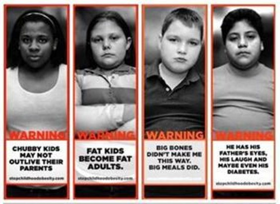 Ad against Childhood Obesity in Georgia.