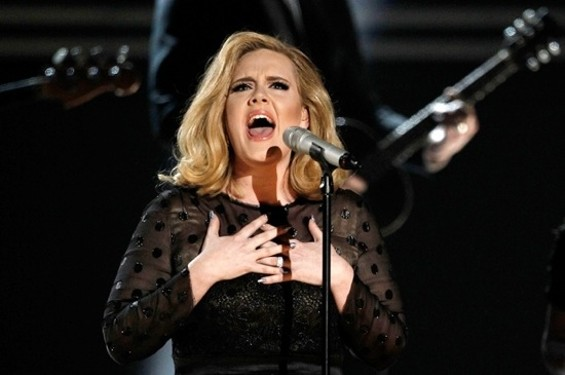 Adele: Even more charming when drunk.