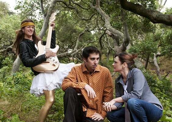 Adrianna Delgadillo, Michael Golden, and Rana Weber. - JENN FARMER