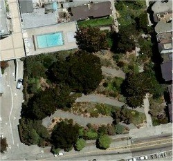 Aerial view of the park. - GOOGLE MAPS
