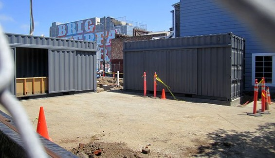 BEFORE SHOT OF BIERGARTEN SF FROM THEIR FACEBOOK PAGE.
