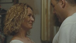 Agoraphobic wife Lois (Melissa Leo) is the movie's most compelling character.