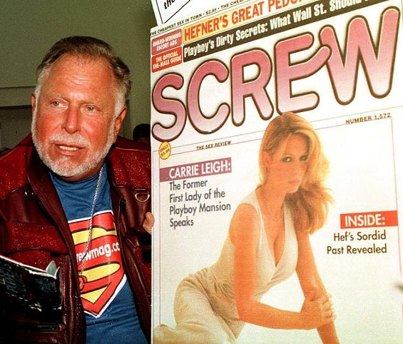 Al Goldstein and his infamous creation, Screw Magazine