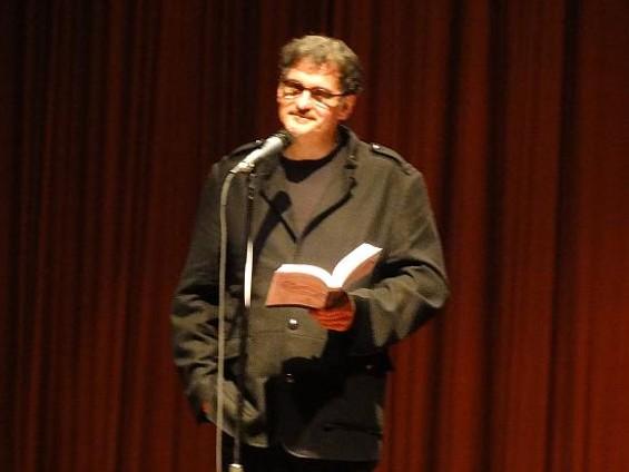 Alan Kaufman reads from his memoir, Drunken Angel.