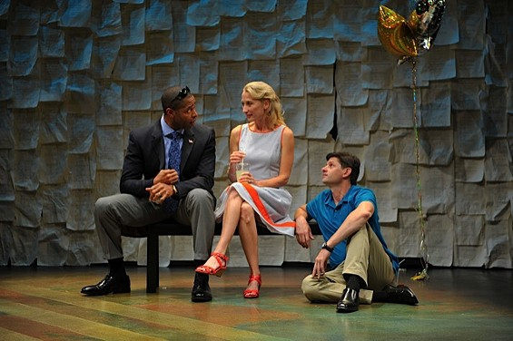 Aldo Billingslea, Carrie Paff and Gabriel Marin in 'This Is How It Goes' - DAVID ALLEN