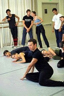 ANDREA  FLORES - Alexei Ratmansky floors 'em during a rehearsal of - Le Carnaval des Animaux.