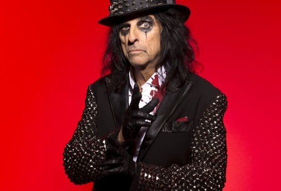 Alice Cooper performs at the Warfield tonight.