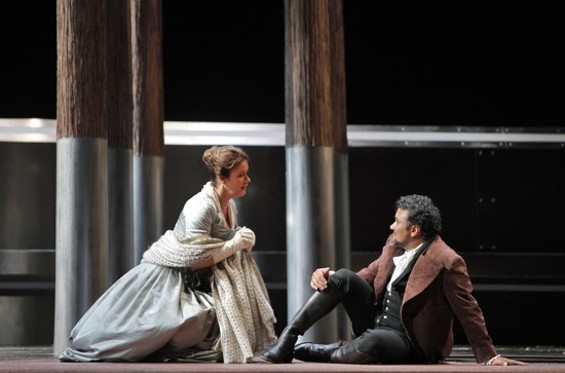 Alice Coote (Charlotte) and Ramon Vargas (Werther) - CORY WEAVER