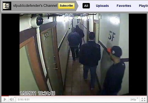 Alleged illegal hotel search caught on video...