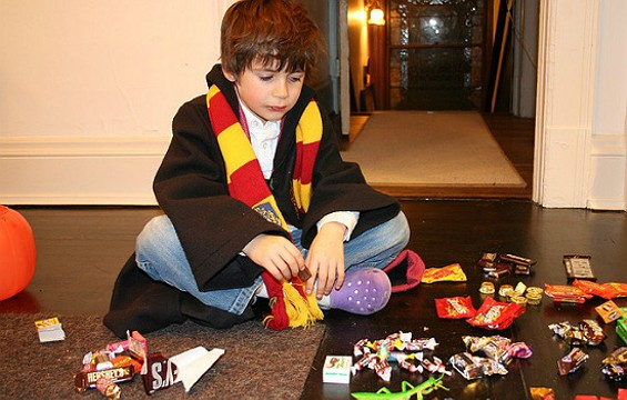 Allergy-ridden Harry Potter deserves Halloween candy too, doesn't he? - FLICKR/NINAHALE