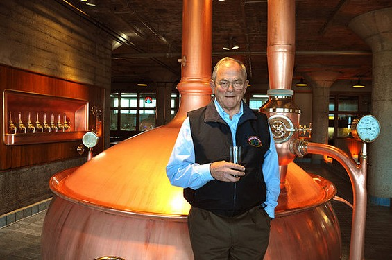 American barleywine daddy Fritz Maytag, at the Anchor Brewery he once owned. - JESSE FRIEDMAN/BEER AND NOSH