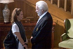 LIONS GATE FILMS - An alcoholic masseuse (Diane Lane) and her wealthy client (Donald Sutherland).