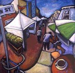 DANIEL  NG - An artist's rendering of the Union Street - Festival.