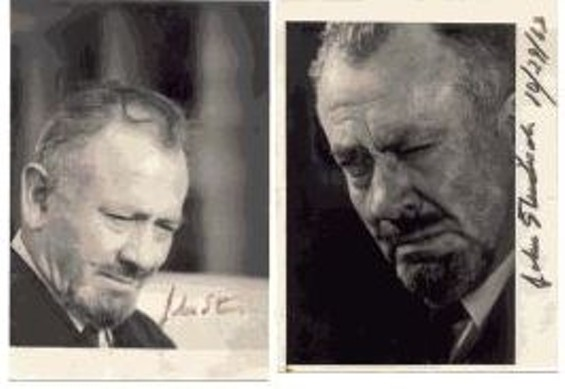 An autographed author photo Steinbeck gave to Aramyan.