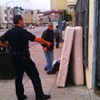 Man Snoozing in Double Bed on Street Gets SFPD Wake-Up
