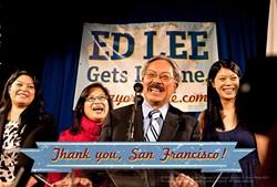 And San Francisco thanks you, Mr. Mayor