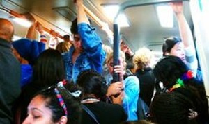 And to think  this photo was taken when BART wasn't hitting record ridership