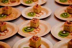 "TAHIAT MABOOB - ""Hope in Spain"" olive oil cake from a 2012 Brooklyn event."