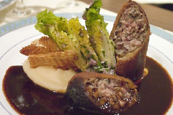Andouillette from Le Violon d'Ingres, Paris. - KPHUA/FLICKR