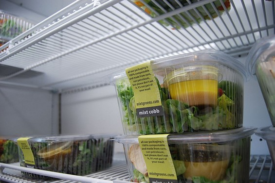 Andrew Swallow, founder of the Mixt Greens empire, has co-authored a cookbook devoted to salads. - BITTERMELON/FLICKR