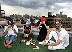 Animal Collective takes its tea ceremonies quite seriously.