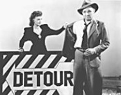 EDGAR G. ULMER - Ann Savage and Tom Neal take a deadly - Detour.