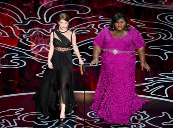 Anna Kendrick and Gabourey Sidibe