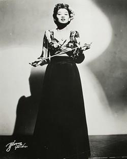 Anna Mae Winburn, big-band pioneer.