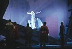 LARRY  MERKLE - Anna-Sophie Duprels as Amanda in - Le Grand Macabre.