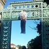 Anonymous  Arts Collective Claims Responsibility for Effigies at UC Berkeley