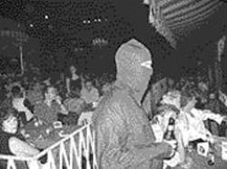 AKIM  AGINSKY - Another rare, death-defying snapshot of the - wily Rock Ninja!