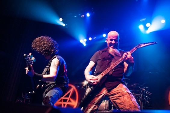 Anthrax at the Regency Ballroom last night. All photos by Richard Haick - RICHARD HAICK