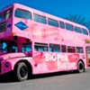 Put on Your Sunday Breast and Get On Board the Big Pink Bus