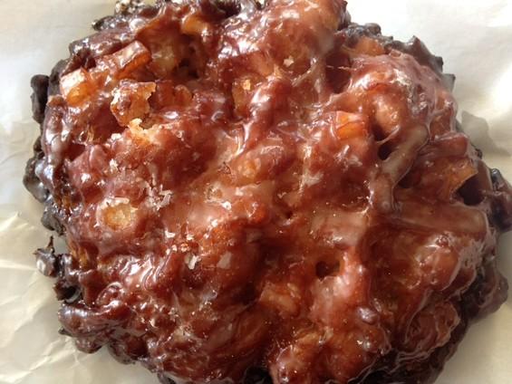 Apple fritter at Uncle Benny's. - TAMARA PALMER