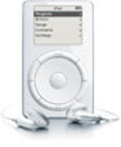 The 2001 iPod. - APPLE