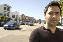 Arash Ghanadan is suing S.F. for false arrest and imprisonment after officers stormed a late-night party in SOMA. - JOSEPH SCHELL