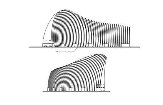 Architectural blueprints of this specific L.I.Z. - EXPLORATORIUM