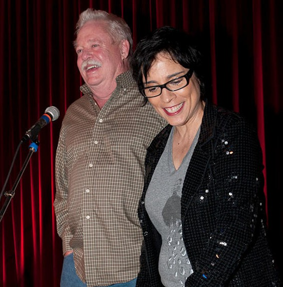 Armistead Maupin and Marga Gomez - SAMUEL KLATCHKO