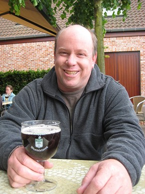 Arne Jonson's been brewmaster at Marin Brewing Co. for 15 years.