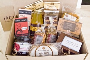 Artisan gift box of La Cocina products from online vendor Foodzie.com - FOODZIE.COM